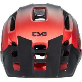 TSG Trailfox Graphic Design Casco, fade to red
